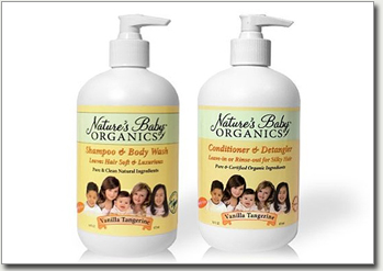 Nature's Baby Organic Shampoo & Conditioner