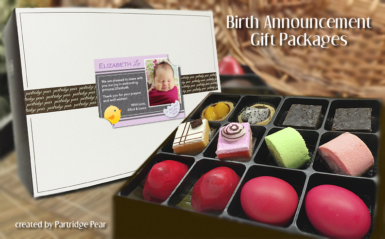 Partridge Pear Vintage Packages